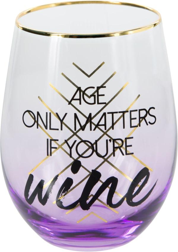 Wine - Stemless Wine Glass