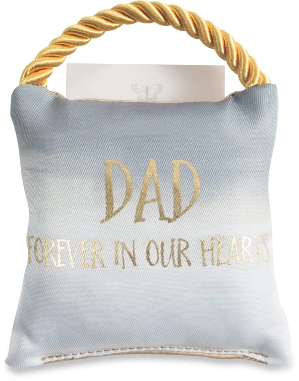 Dad - Memorial Pocket Pillow