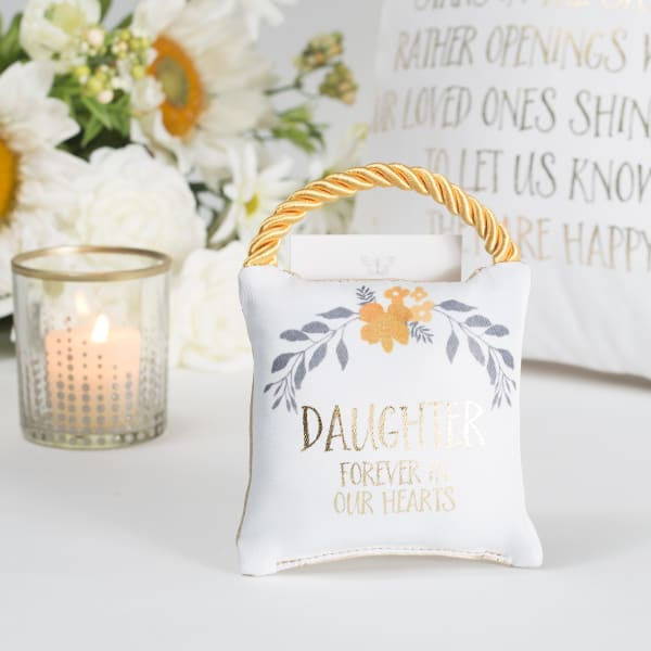 Daughter - Memorial Pocket Pillow