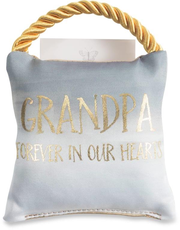 Grandpa - Memorial Pocket Pillow