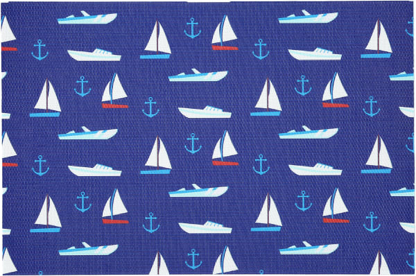 Boat - Placemat Gift Set (4)