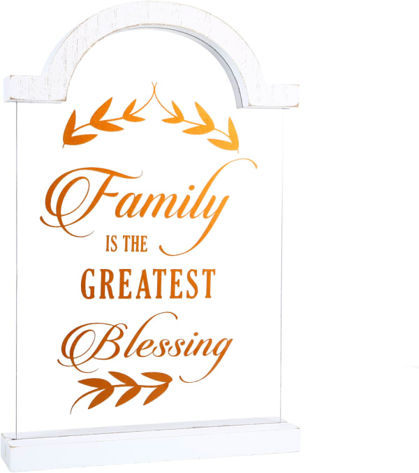 Family - Self Standing Plaque
