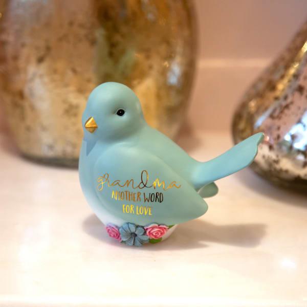 Grandma - Bird Figurine