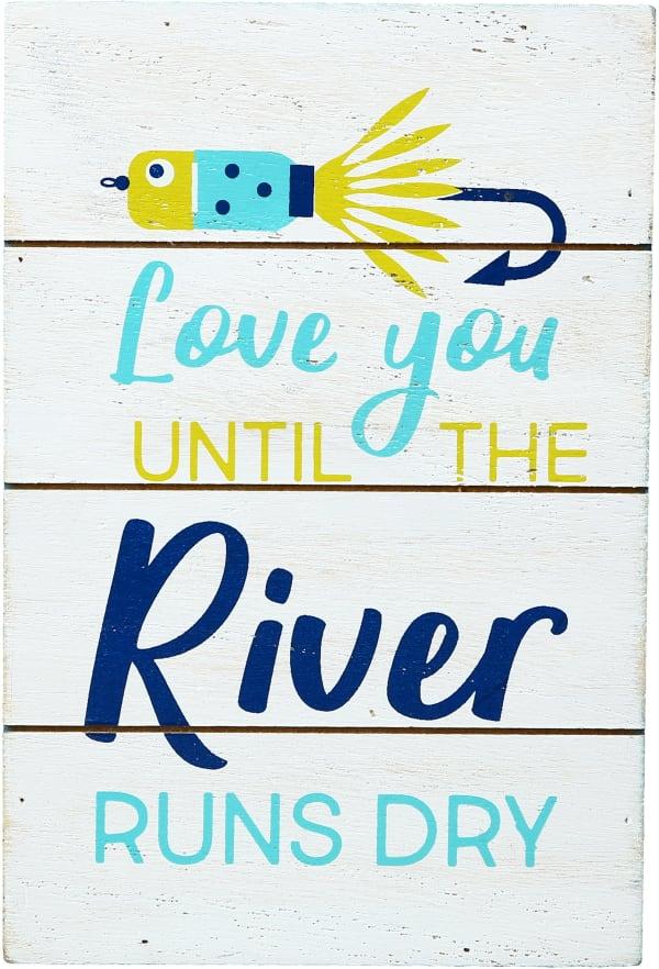 River Runs Dry - MDF Plaque