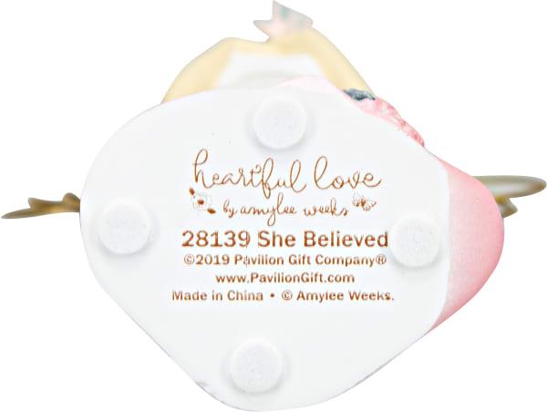 She Believed - Angel Holding Butterfly