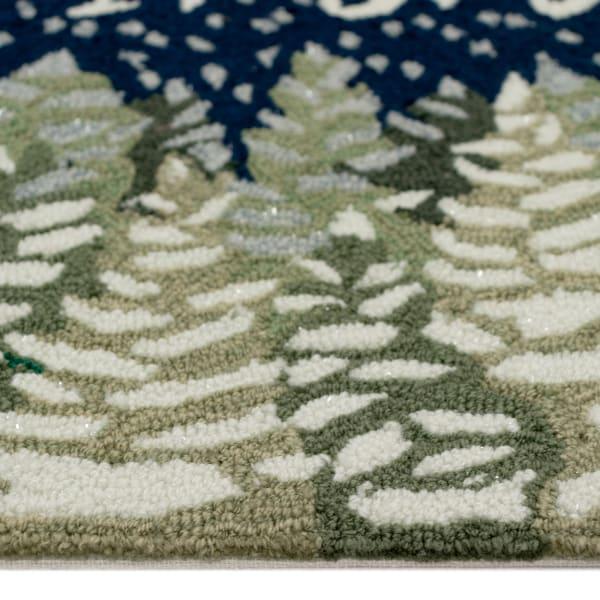Let It Snow Outdoor Rug