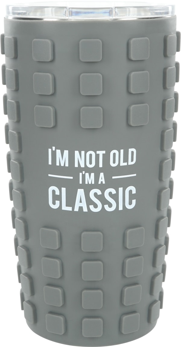 Classic - Travel Tumbler with 3D Silicone Wrap