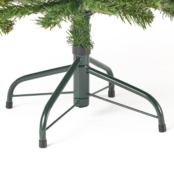 4.5-foot Noble Fir Unlit Hinged Artificial Christmas Tree
