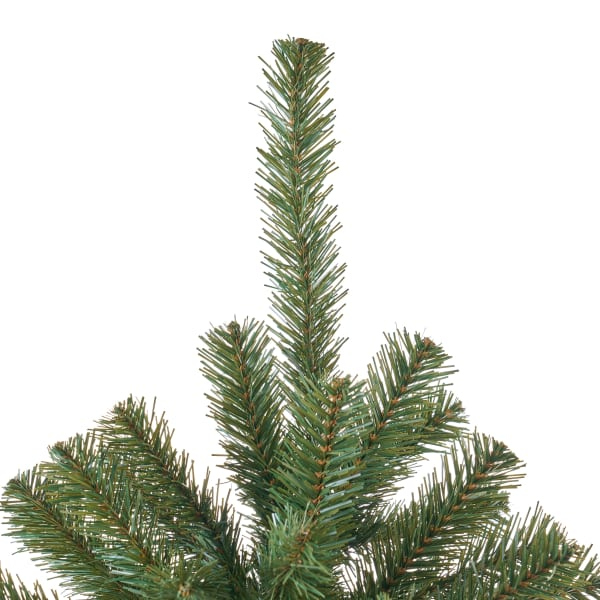 7-foot Noble Fir Unlit Hinged Artificial Christmas Tree