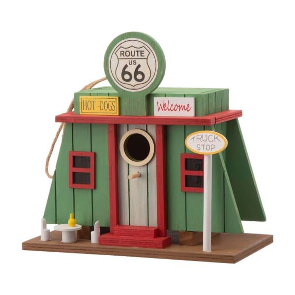 Wooden Truck-Shop Birdhouse