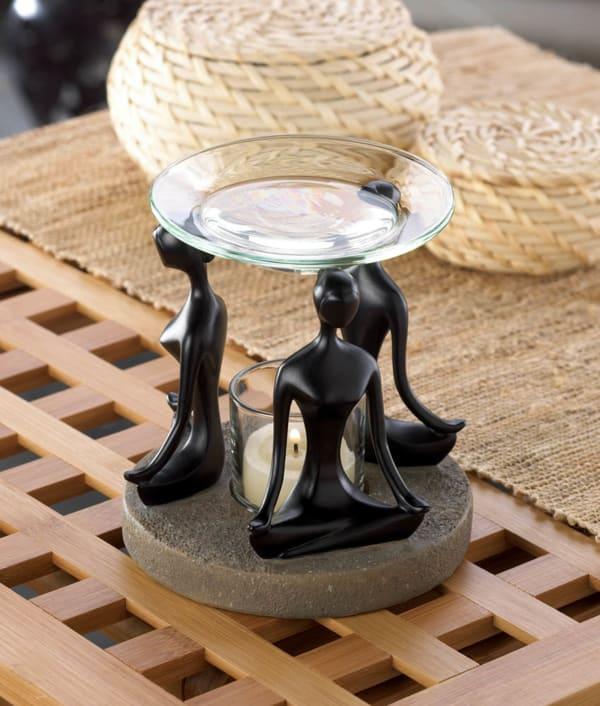 Namaste Yoga Triad Candle Oil Warmer