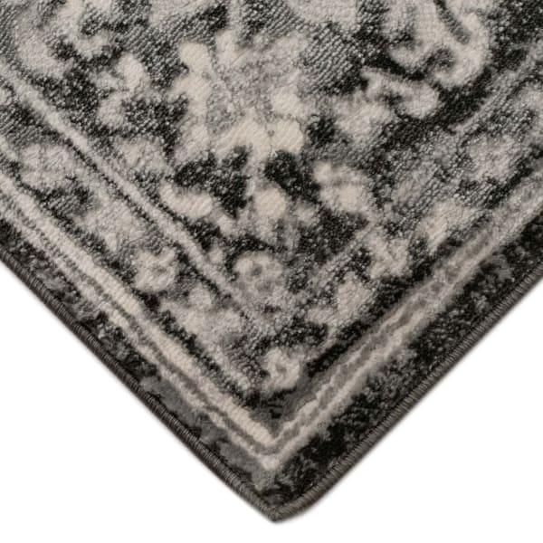 Heriz Black 3.25' x 5' Indoor Rug