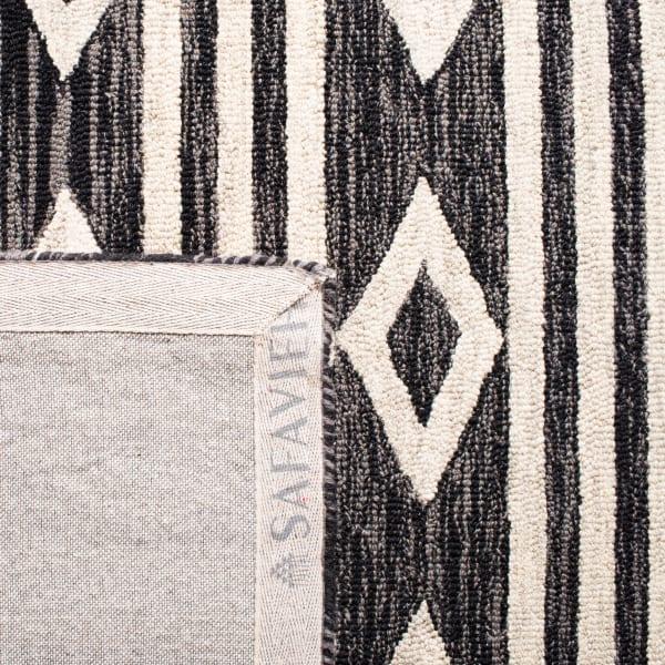 Essence Blue Wool Rug 5' x 5'