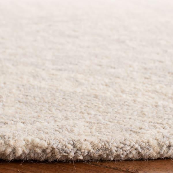 Essence Gray Wool Rug 5' Round