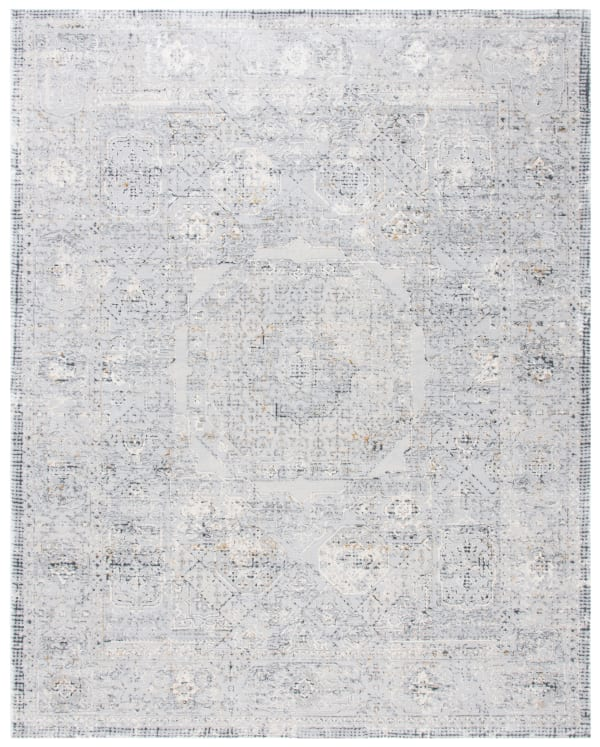 Gray Polypropylene Rug 9' x 12'
