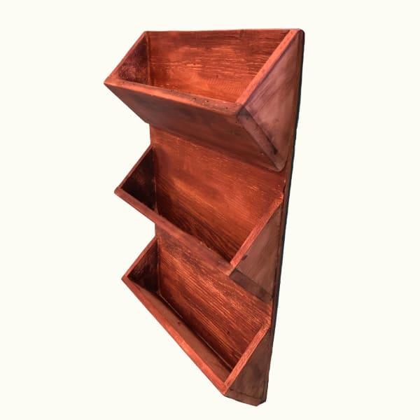 3 Level Wall Wood Planter