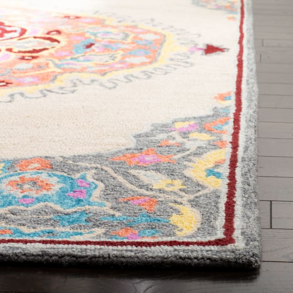 Natural Wool Rug Round 5'