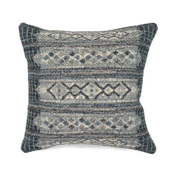 Denim Outdoor Pillow