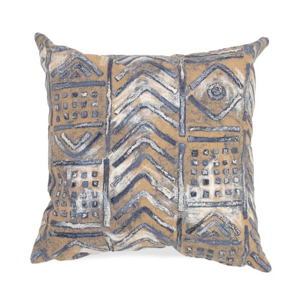 Bambara Indigo Outdoor Pillow