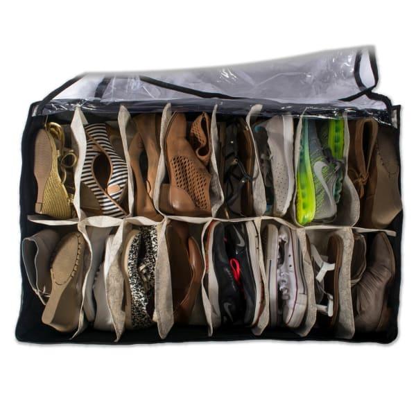 Damask 16 Shoes Soft Storage