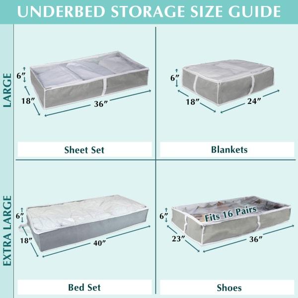 Gray 16 Shoes Soft Storage