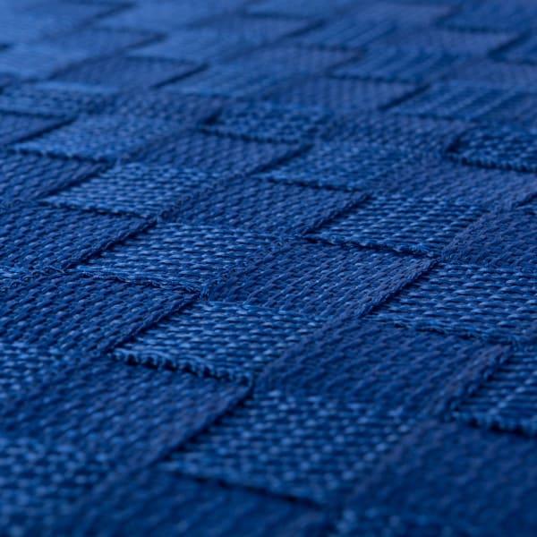 Nylon Bin Basketweave Navy Trapezoid 13x13x13 Set/2