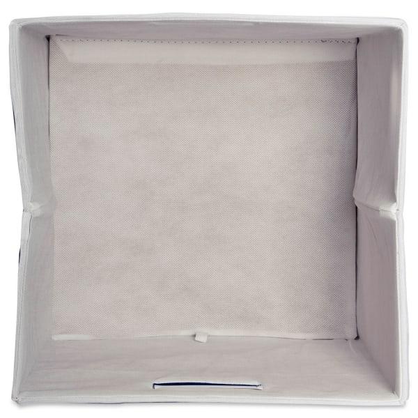 Polyester Cube Chevron Aqua Square 13x13x13