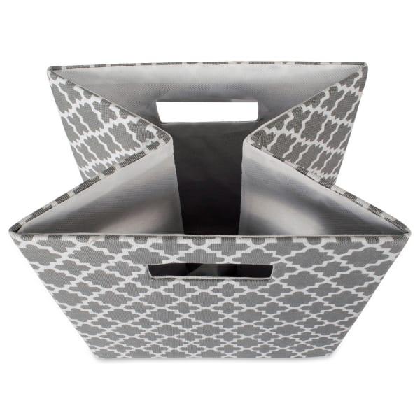 Polyester Cube Lattice Gray Square 13x13x13