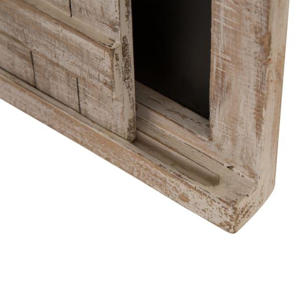 Farmhouse Wooden Chalkboard Barn Door Wall Decor
