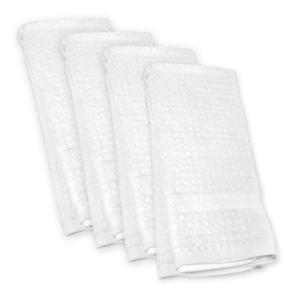 Solid White Dishtowel Set