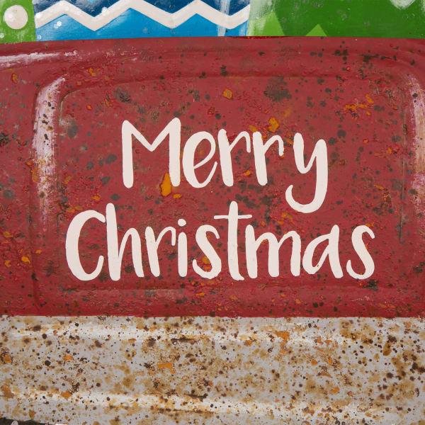 Christmas Truck Yard Stake