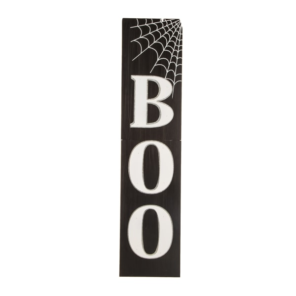 Boo Greeting Porch Sign