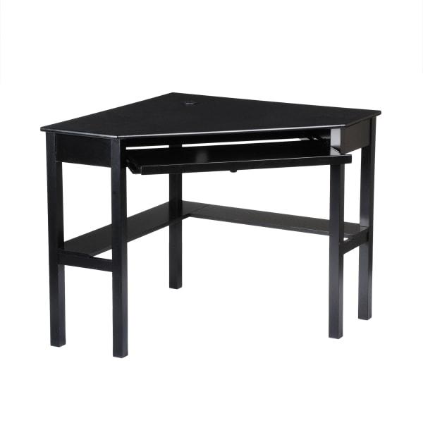 Amy Black Corner Desk