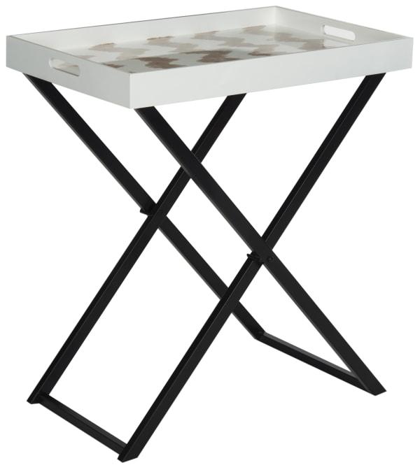 Stellar Gray Butler Table