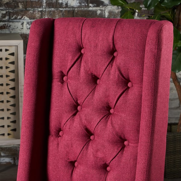 Blythe Red Dining Chairs Set of 2