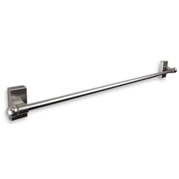 Magnetic Satin Nickel Curtain Rod 17