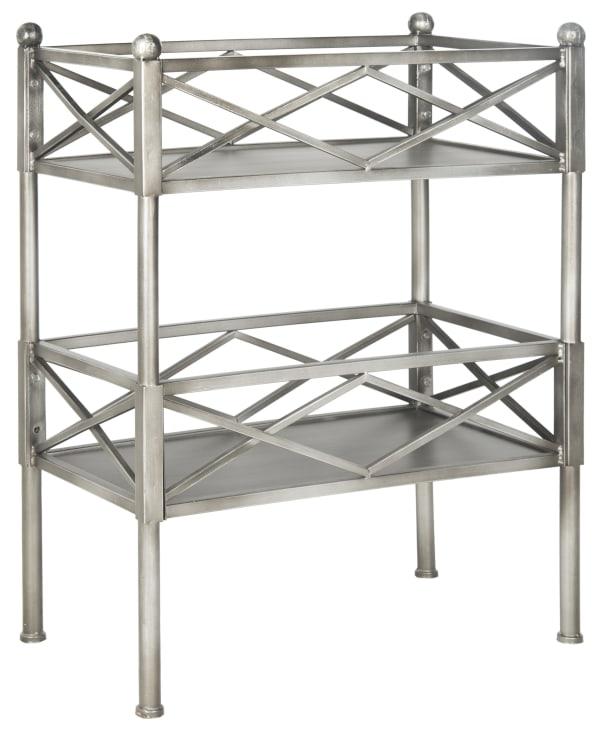 Oriolo Silver Storage Shelves