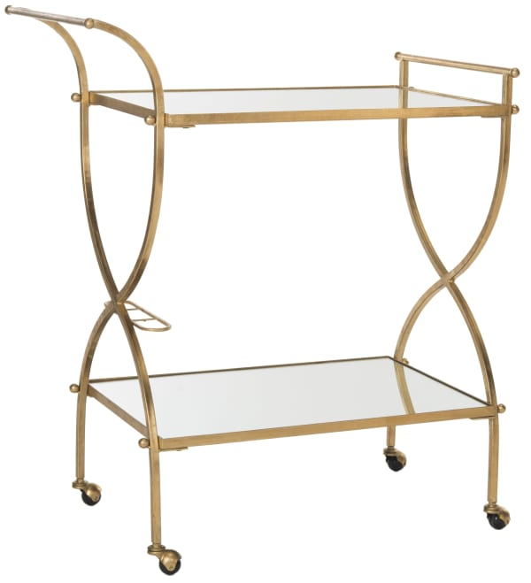 Radley Gold Iron Bar Cart