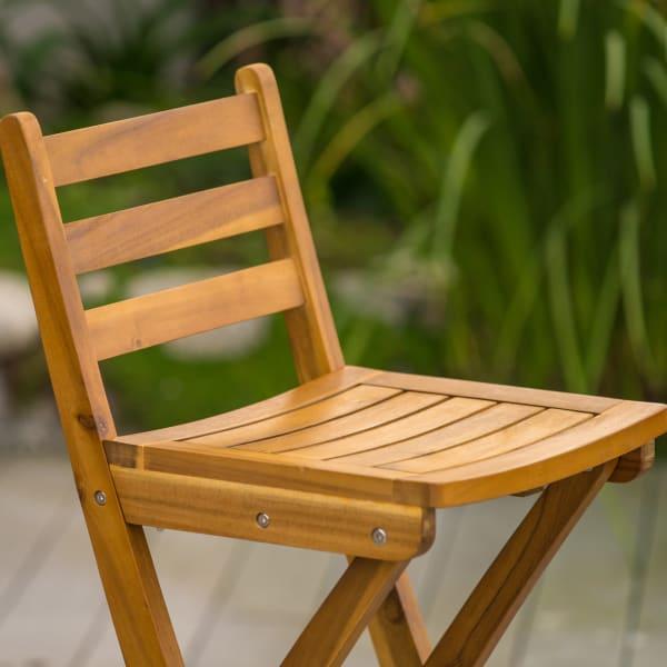 Verdes Natural Wood Barstool