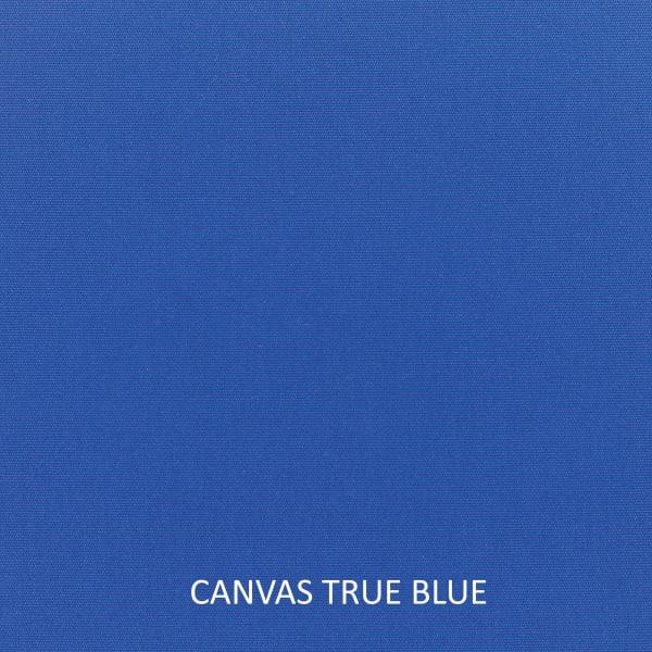 Sunbrella Knife Edge Set of 2 in Canvas True Blue Outdoor Pillow
