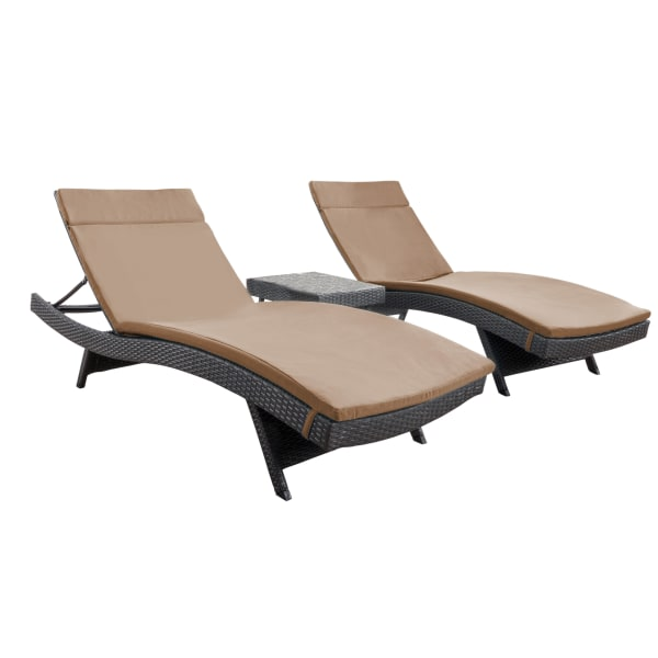 Chaise Lounge with Cushions
