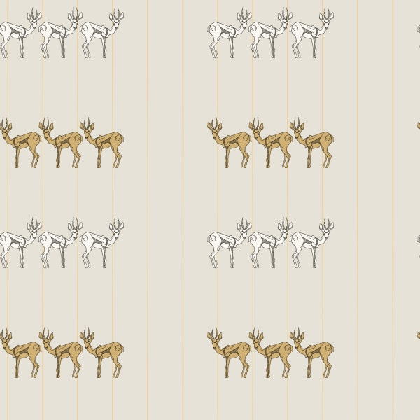 Novogratz Sprit Animal Self-Adhesive Removable Wallpaper Single Roll