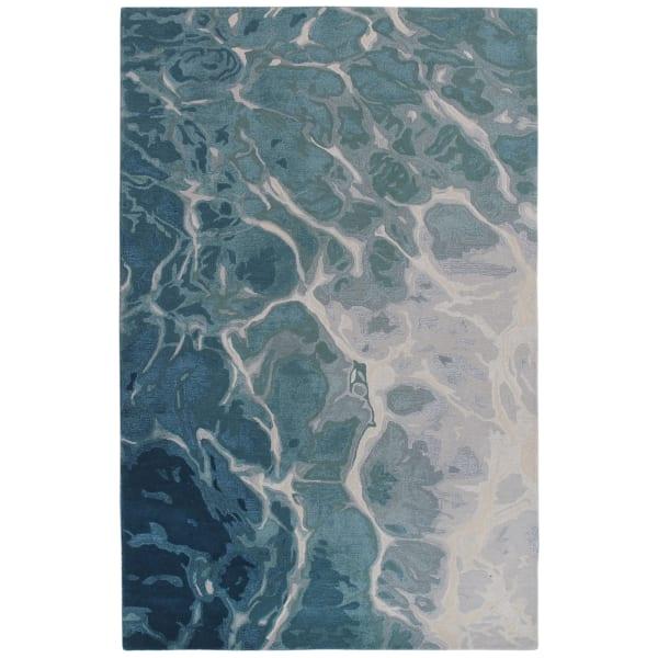 Blue Water Indoor Rug 8'3