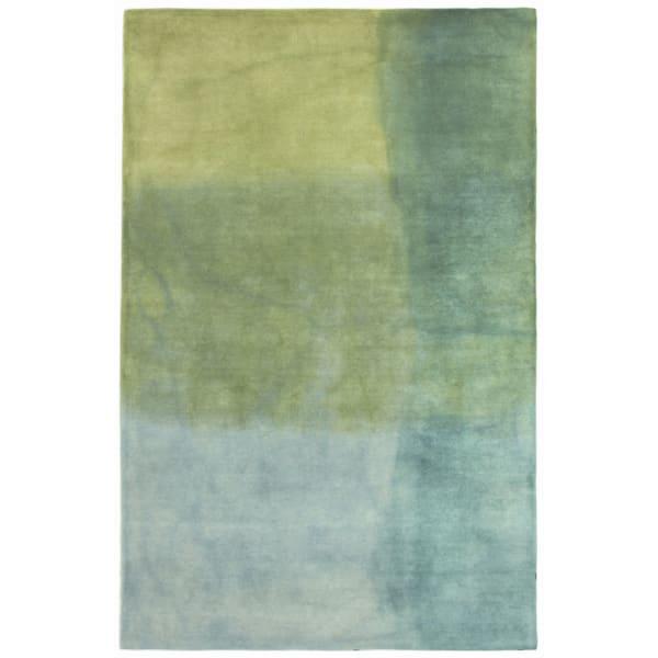 Blue Watercolors Indoor Rug 8'3