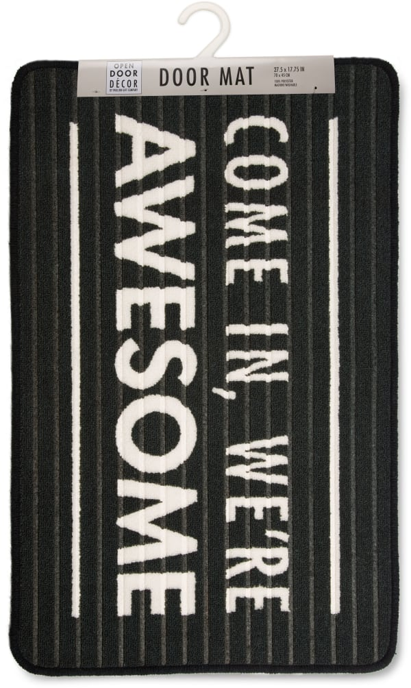 We're Awesome Floor Mat