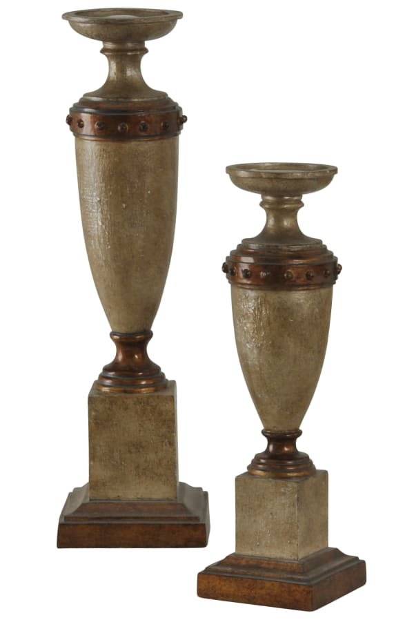 Traditional Serbia Candle Holder Set of 2