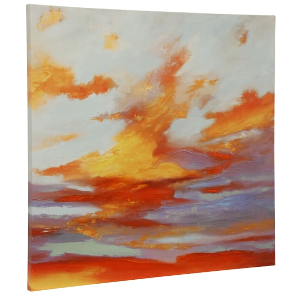 Oxidized Skies I Stretched Canvas Wall Art