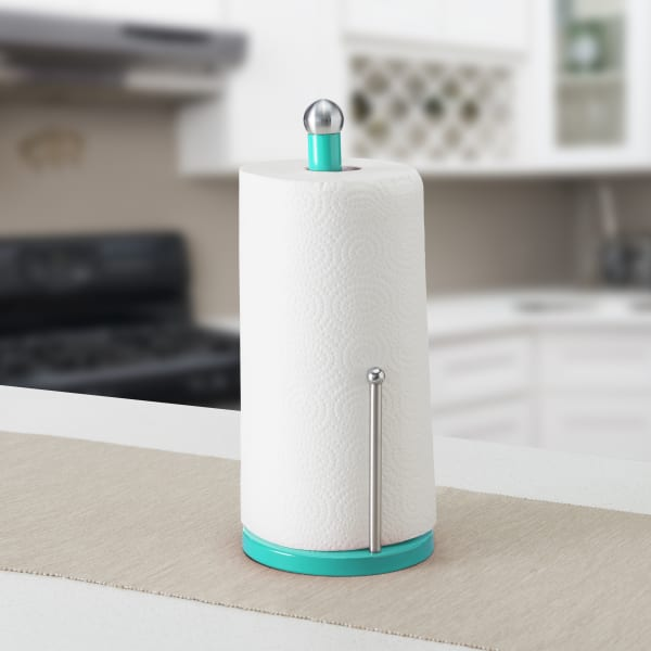 Turqouise Paper Towel Holder