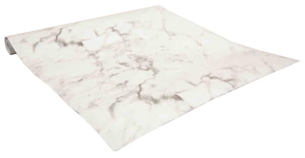 White Marble Shelf Liner Set of 2