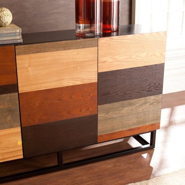 Multitonal Wood Chest